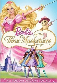 Barbie and the Three Musketeers main cover