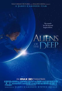 Aliens of the Deep main cover