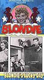 Blondie's Lucky Day main cover