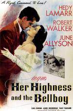 her_highness_and_the_bellboy movie cover