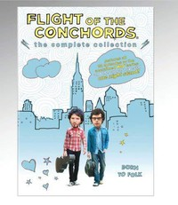 The Flight of the Conchords movie cover