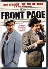 the_front_page movie cover