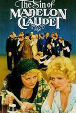 the_sin_of_madelon_claudet movie cover