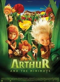 Arthur and the Invisibles main cover