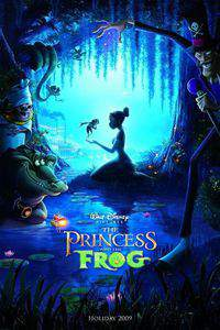 The Princess and the Frog main cover