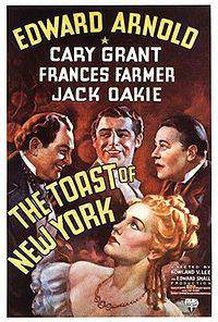 The Toast of New York main cover