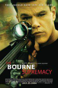 The Bourne Supremacy main cover