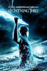 Percy Jackson and the Olympians: The Lightning Thief main cover