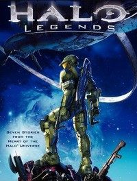 Halo Legends main cover