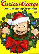 Curious George: A Very Monkey Christmas main cover