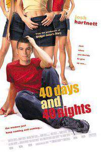 40 Days and 40 Nights main cover
