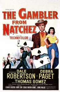 The Gambler from Natchez main cover