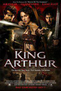 King Arthur main cover