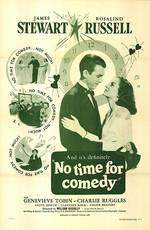 no_time_for_comedy movie cover