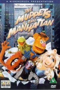 The Muppets Take Manhattan main cover