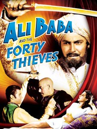 Ali Baba and the Forty Thieves main cover