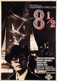 8½ (Federico Fellini's 8 1/2) main cover