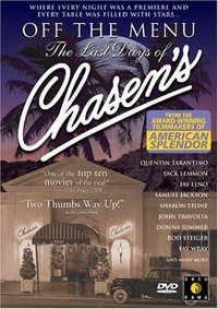 Off the Menu: The Last Days of Chasen's main cover