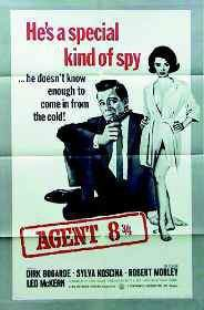 Agent 8 3/4 main cover
