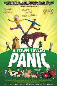 A Town Called Panic main cover