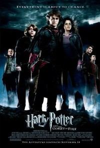 Harry Potter and the Goblet of Fire main cover