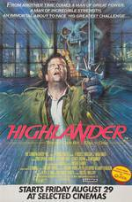 highlander movie cover