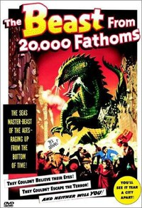The Beast from 20,000 Fathoms main cover