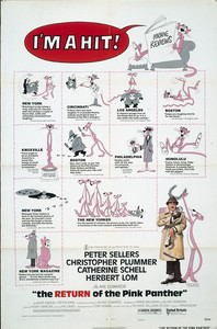 The Return of the Pink Panther main cover
