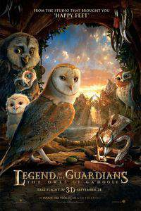 Legend of the Guardians: The Owls of Ga'Hoole main cover