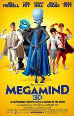 megamind movie cover
