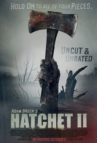(Adam Green's) Hatchet II main cover