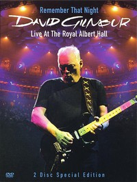 David Gilmour Remember That Night main cover