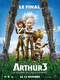 Arthur 3: The War of the Two Worlds main cover