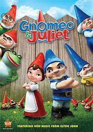 Gnomeo & Juliet main cover