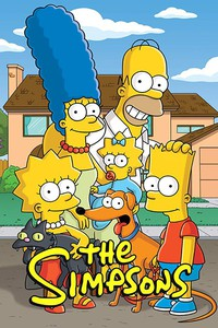 The Simpsons movie cover
