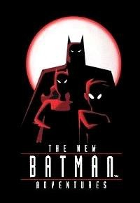 The New Batman Adventures movie cover