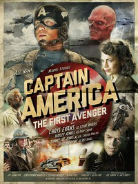Captain America: The First Avenger main cover
