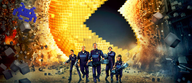 pixels movie cover