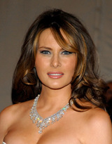 Actor Melania Trump