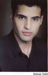 Actor Babak Tafti