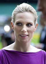 Actor Zara Phillips