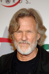 Actor Kris Kristofferson