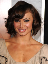 Actor Karina Smirnoff