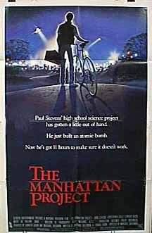 the manhattan project movie Watch the manhattan project (1986) free online - a teen and his girlfriend make an atomic bomb with plutonium stolen from a scientist dating his mother.