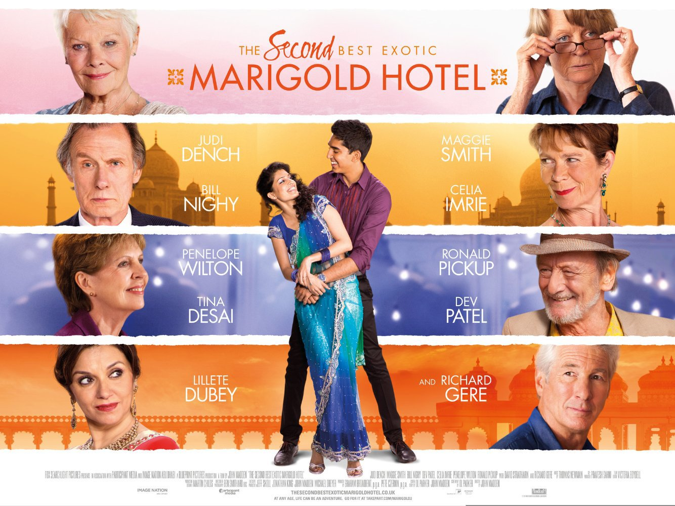 Download The Second Best Exotic Marigold Hotel movie for iPod/iPhone/iPad in hd, Divx, DVD or ...