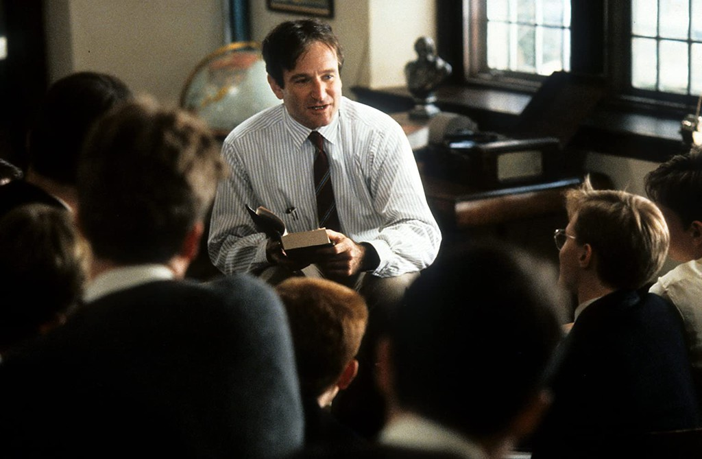 an analysis of characters in dead poets society by tom schulman A page for describing characters: dead poets society caveat lector character sheets are littered with spoilers mr john keating the new english teacher.