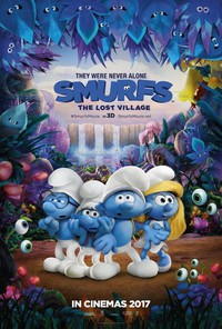 smurfs_the_lost_village movie cover