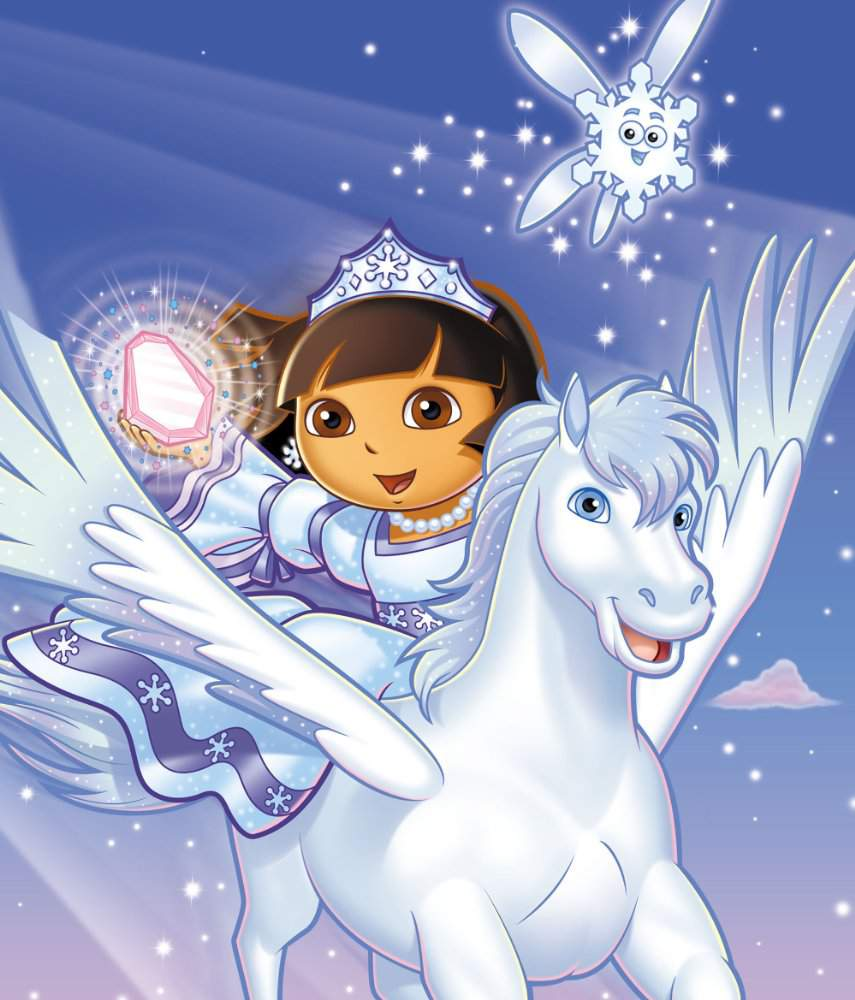 Download dora saves the snow princess movie for ipod iphone ipad in hd divx dvd or watch online - Princesse dora ...