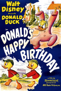 Donald's Happy Birthday