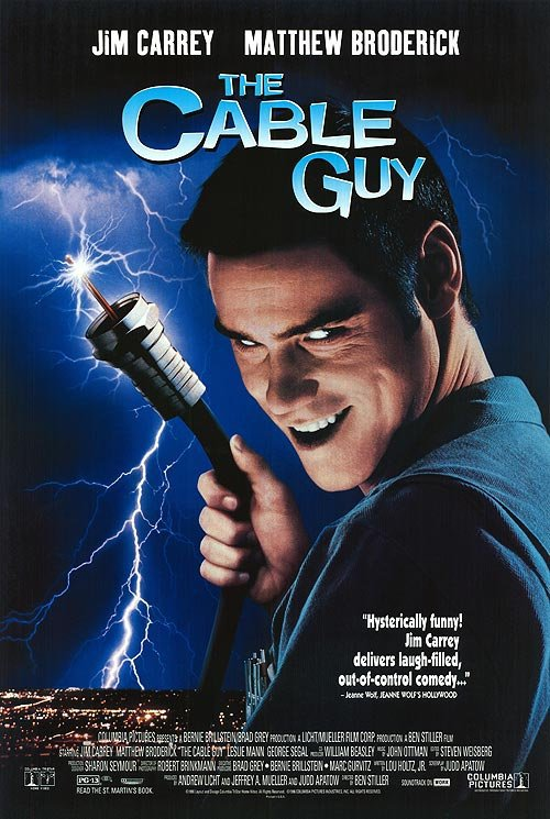 Watch The Cable Guy 1996 Full Movie Online Or Download Fast